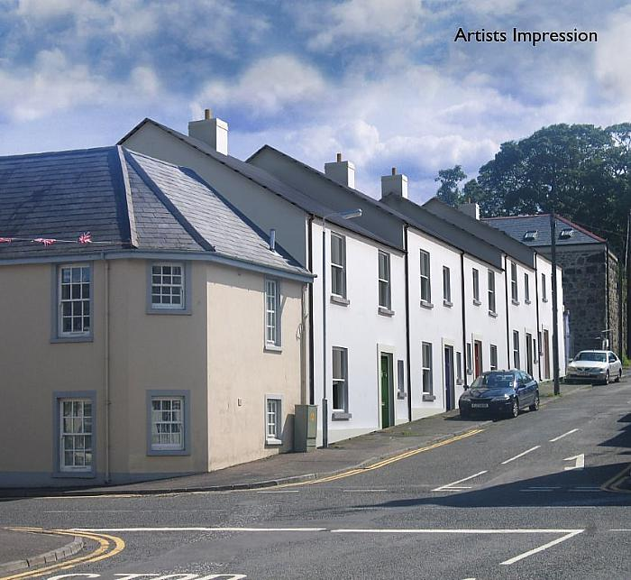 Development Site at 2-12 Church Hill, Killyleagh