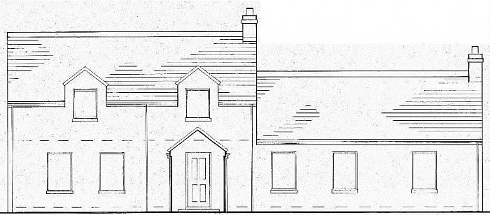 Partially Constructed 17 Jericho Road, Killyleagh